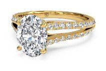 store Oval Diamond Gold Modern      Engagement locations CTW canada Band Bypass   kt Ring Rose Cut in Micropav