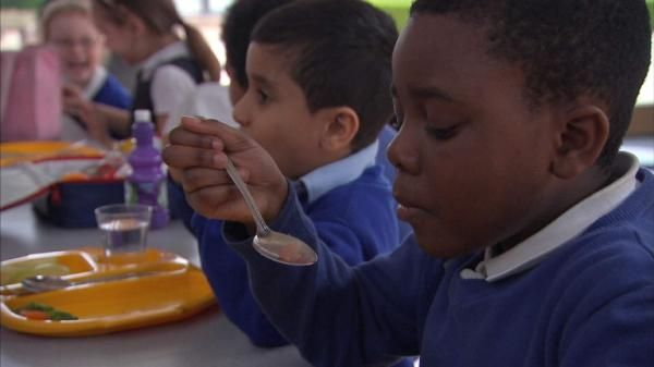 The Government is looking into scrapping free school meals for all infants at lunchtimes, Sky News has learned. The Conservatives committed to the policy in their 2015 manifesto, but the cut is under consideration as part of George Osborne's November spending review. Introduced by Nick Clegg in the last coalition government, the scheme saves the parents of reception, year one and year two pupils about £400 per child, per year.