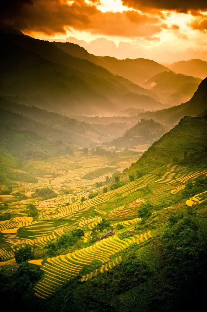 Beautiful WOW! Sa Pa Viet Nam....Can your soul be this serene and show love to others