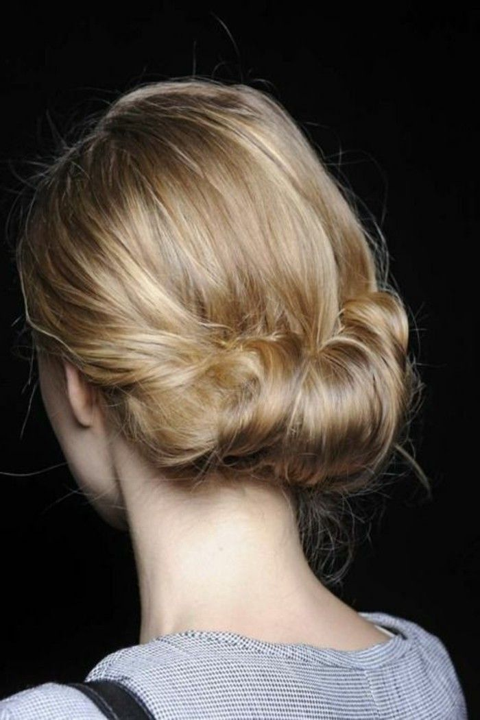 25 best ideas about chignon bas on pinterest chignons coiffure chignon and coiffure simple. Black Bedroom Furniture Sets. Home Design Ideas