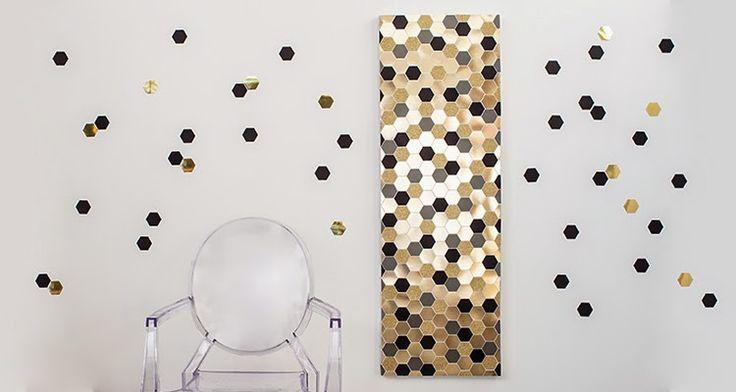 DIY: Painel decorativo com papel de scrap