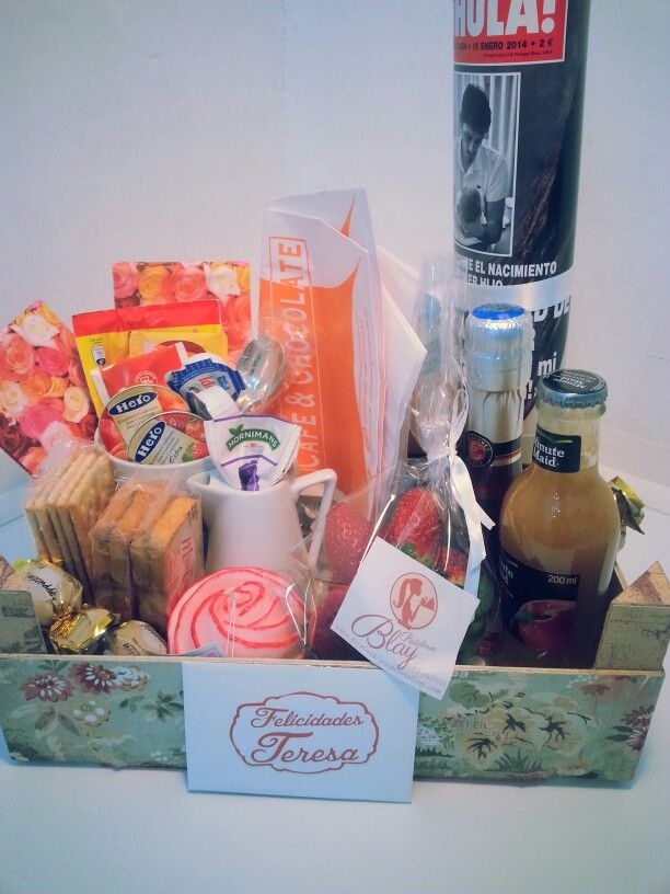 141 best images about desayunos sorpresa on pinterest - Regala un desayuno a domicilio ...
