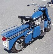 1959 Cushman scooter for sale blue