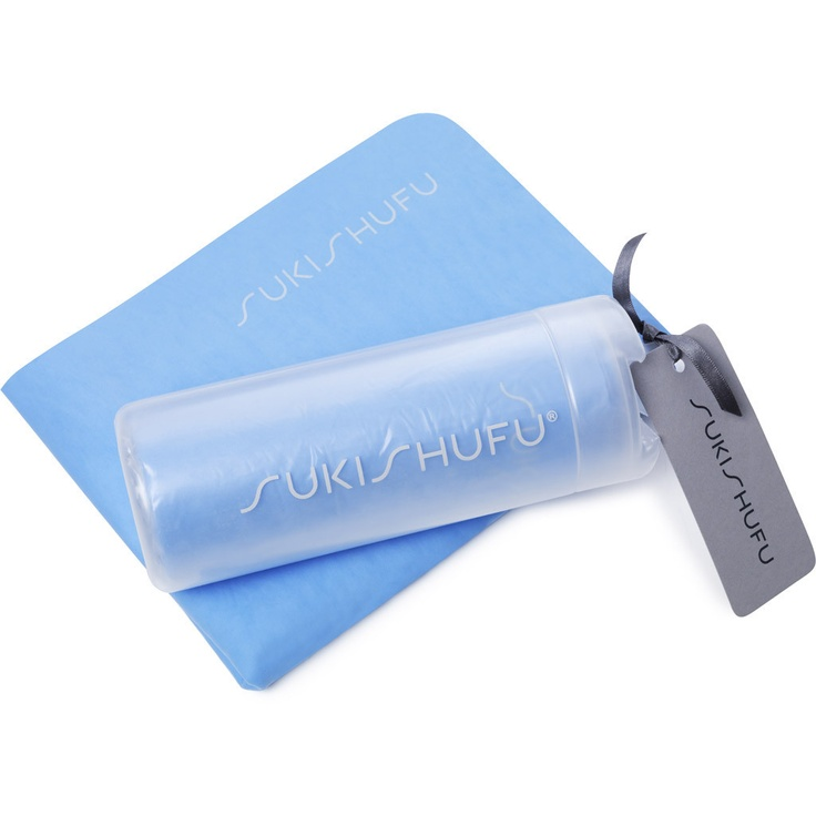 SukiSoak - did you see the divers using these at the Olympics? Such a handy water absorbent towel for all kinds of sports or after you shower. An essential from Suki Shufu
