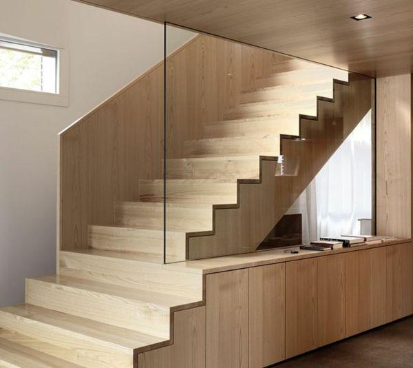 37 besten Treppe Bilder auf Pinterest Treppenhaus, Treppen und - design treppe holz lebendig aussieht