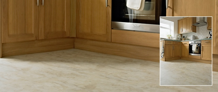 MODE - San Marco Limestone - Warm delicate tones but superbly robust, laid as broken bond to enhance the natural looking limestone finish in this kitchen. Available from Rodgers of York #Interiors #Flooring