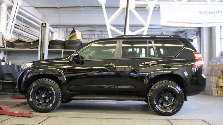 "Lifted G Wagon >> Toyota Land Cruiser Prado 150-series ""SS Black Edition ..."