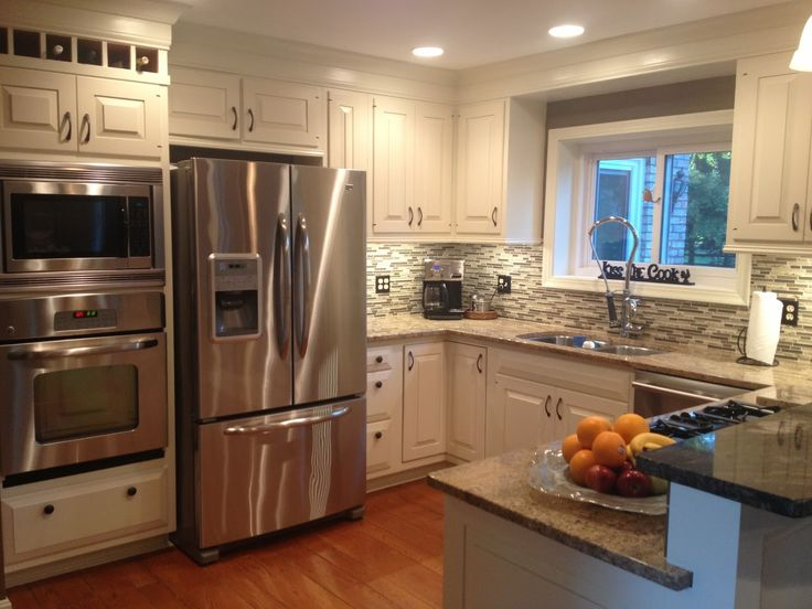 Best 25 double oven kitchen ideas on pinterest kitchen for Kitchen remodels on a budget