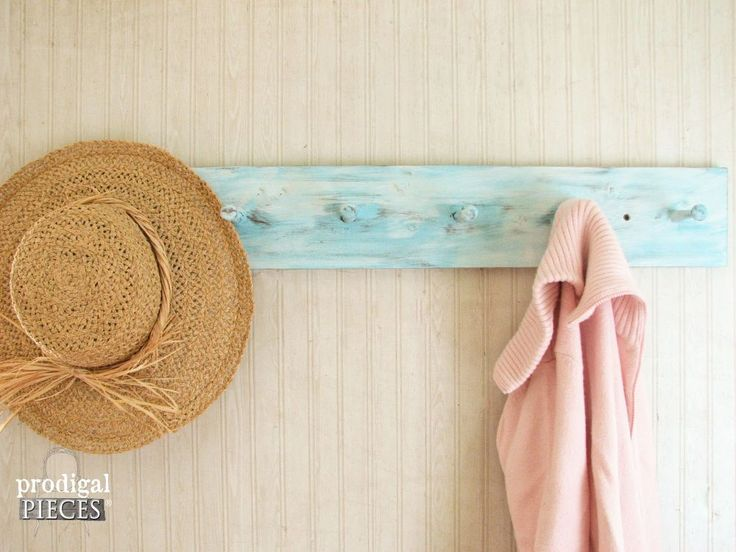 Build a Coat / Towel Rack With Only ONE Power Tool