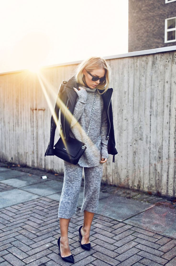 Angelica Blickshows us how to wear the two piece... - Street Style