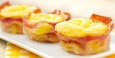 Ei - bacon muffins - Voedzaam en Snel