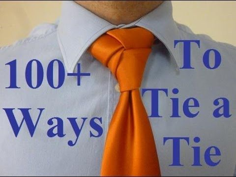 30 Different Ways to Tie a Tie That Every Man Should Know