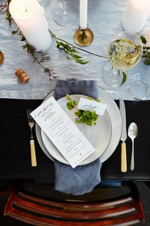 Athena Calderone's guide to hosting the perfect dinner part and selecting the wine to match your dinner.