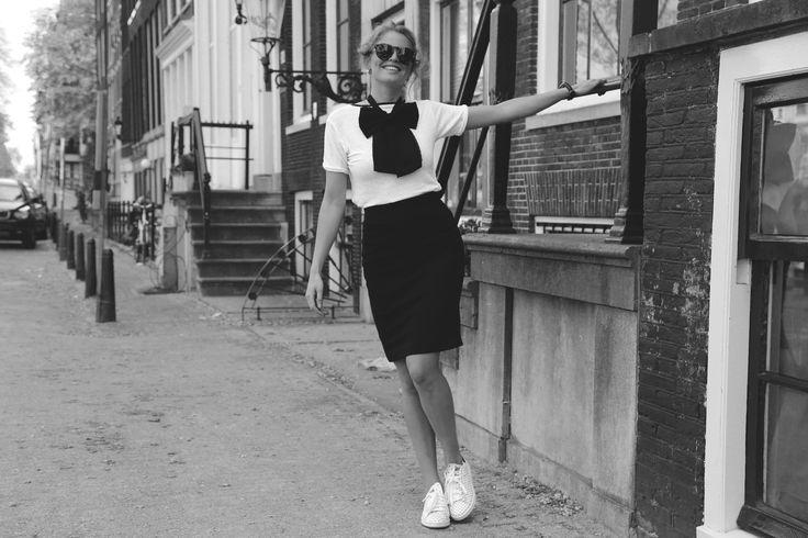 Sascha Bunge in Birkin Skirt van Atelier des Femmes