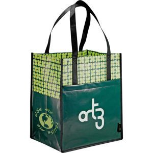 Laminated Grocery Totes from http://www.schoolspiritstore.com/school-supplies-and-fun-stuff/plant-a-tree-cards/