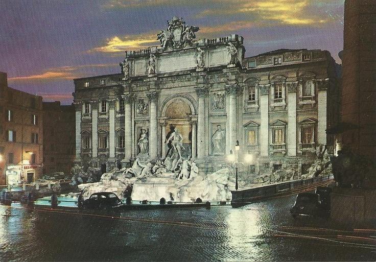 The Fountain of Trevi, Rom, Italy
