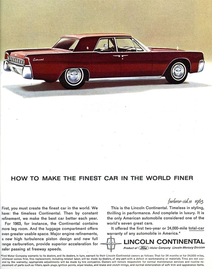 145 best images about lincoln motor car company on pinterest for Lincoln motor car company