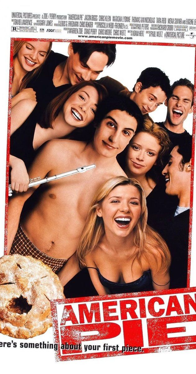 American Pie - Directed by Paul Weitz, Chris Weitz.  With Jason Biggs, Chris Klein, Thomas Ian Nicholas, Alyson Hannigan. Four teenage boys enter a pact to lose their virginity by prom night.