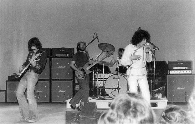 Nazareth performing 6 March 1976