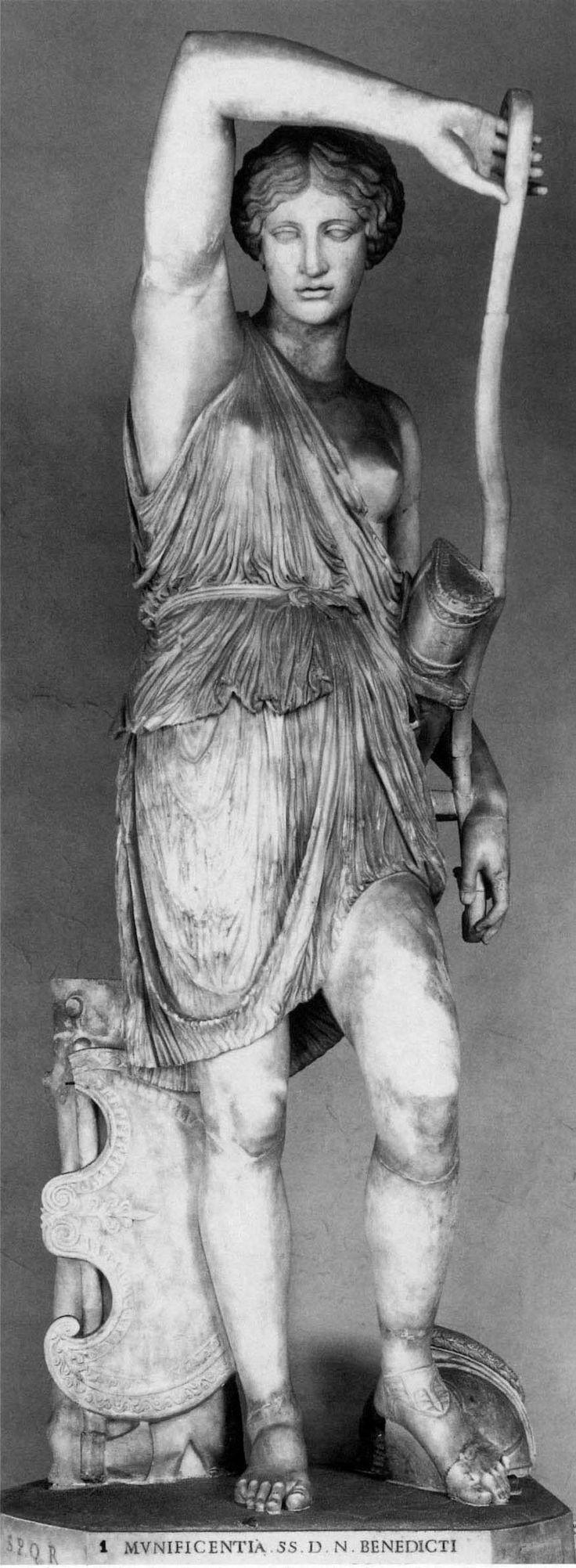 244. Αμαζόνα Mattei: Αντίγραφο μιας από τις Αμαζόνες της Εφέσου. Ρώμη, Palazzo Mattei.