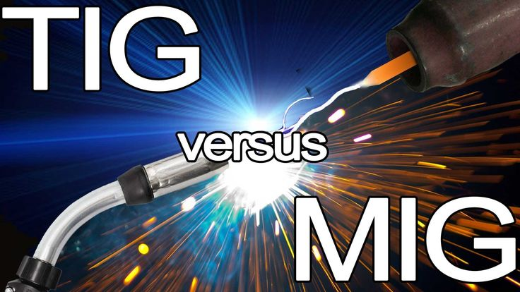 Check out this video on how to choose when to use MIG welding versus TIG #welding.