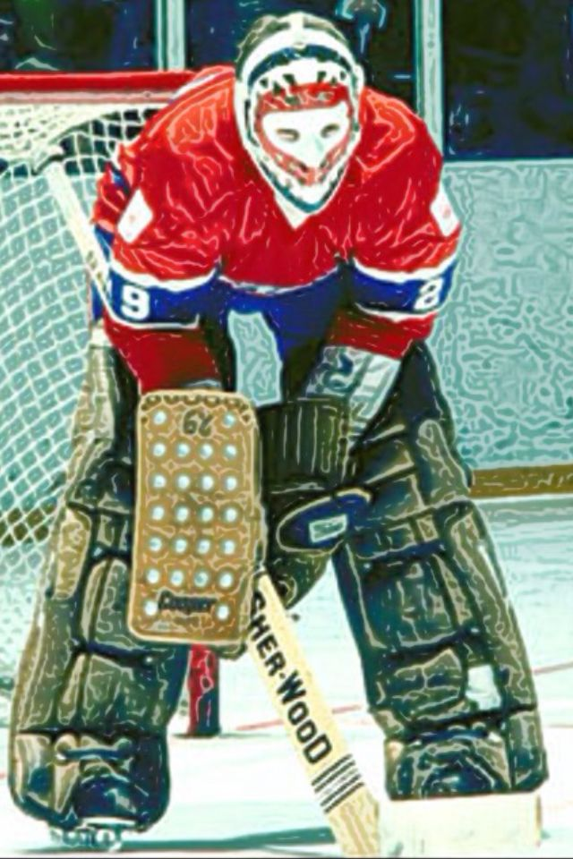 Montreal Canadians Ken Dryden