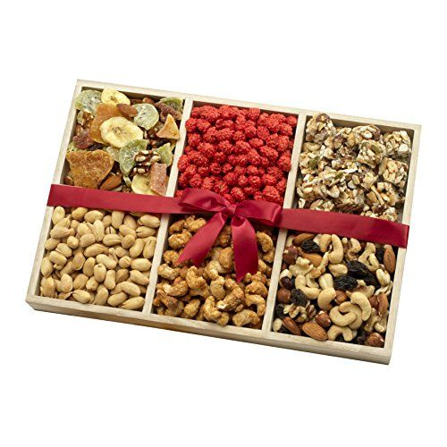 Dried Fruit and Nut Party Gift Tray 25lb A Healthy Gift Basket * See this great product.