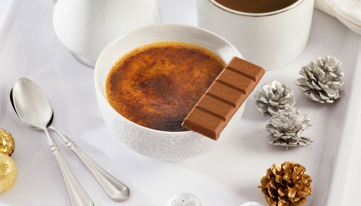 Put your handy kitchen blowtorch to good use with this delicious milk chocolate crème brûlée recipe.