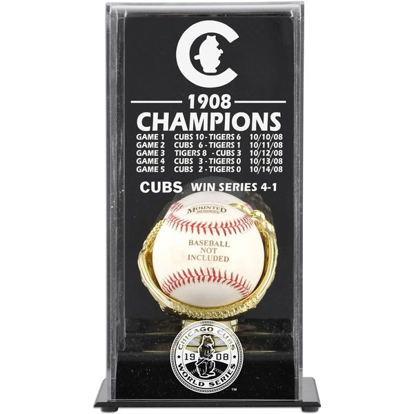Chicago Cubs Fanatics Authentic 1908 World Series Champs Display Case - $49.99