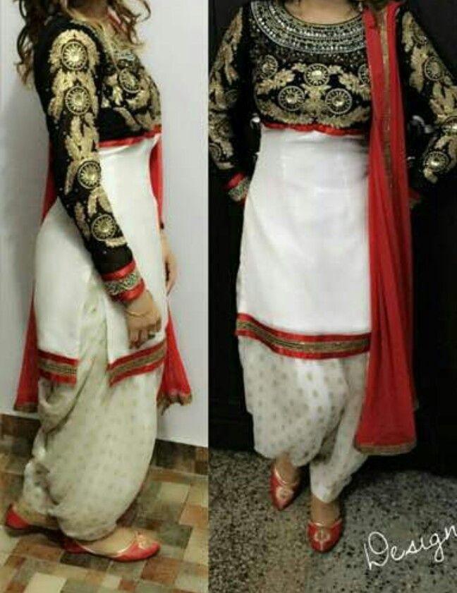 punjabi salwar suit - get this made @nivetas https://www.facebook