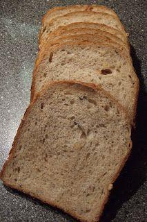 BROODBAKMACHINE: Uit de keuken van Levine: Brood met pompoenpitten