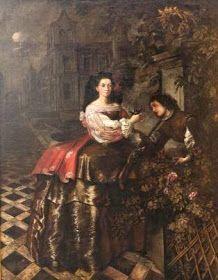 Marquesa de Legarda en traje de cazadora. Murillo