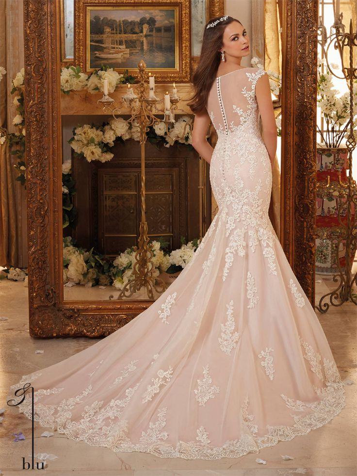 52 best Low Back Wedding Dresses images on Pinterest | Wedding ...