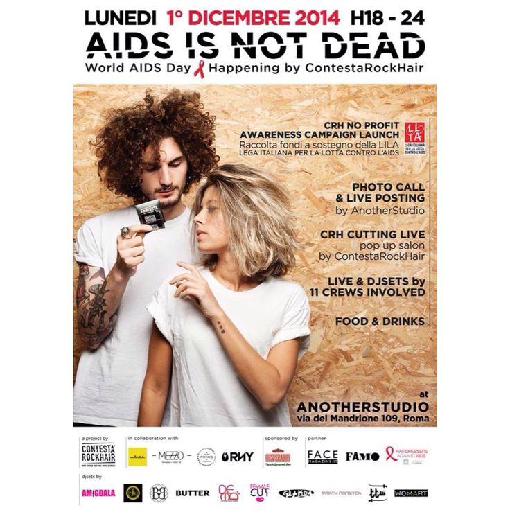 #AIDSISNOTDEAD #WorldAidsDay