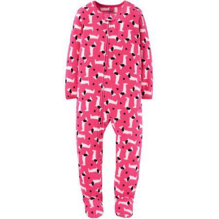 Child of Mine by Carter's Newborn Baby Girl 1 Piece Blanket Sleeper, Pink