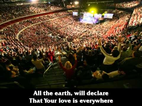 Parachute Band - All The Earth (2005 version)  All the Earth will declare that Your love is everywhere!