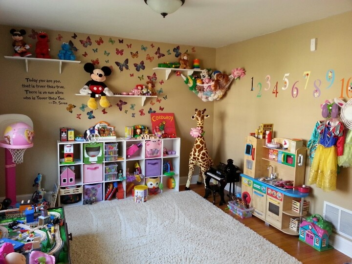 Play room home pinterest plays decorating ideas and the o 39 jays - Playroom decorating ideas ...