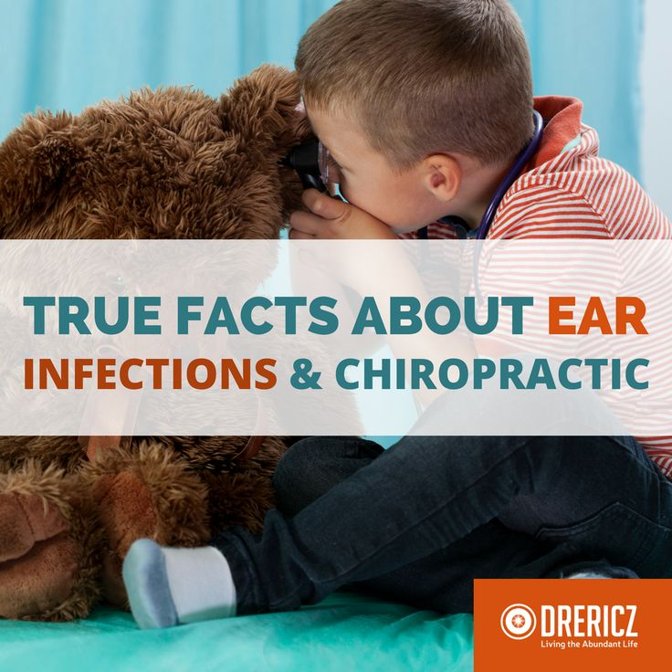 The truth about ear infections and chiropractic is not separate from natural therapies. Alternative solutions exist and chiropractic can help!