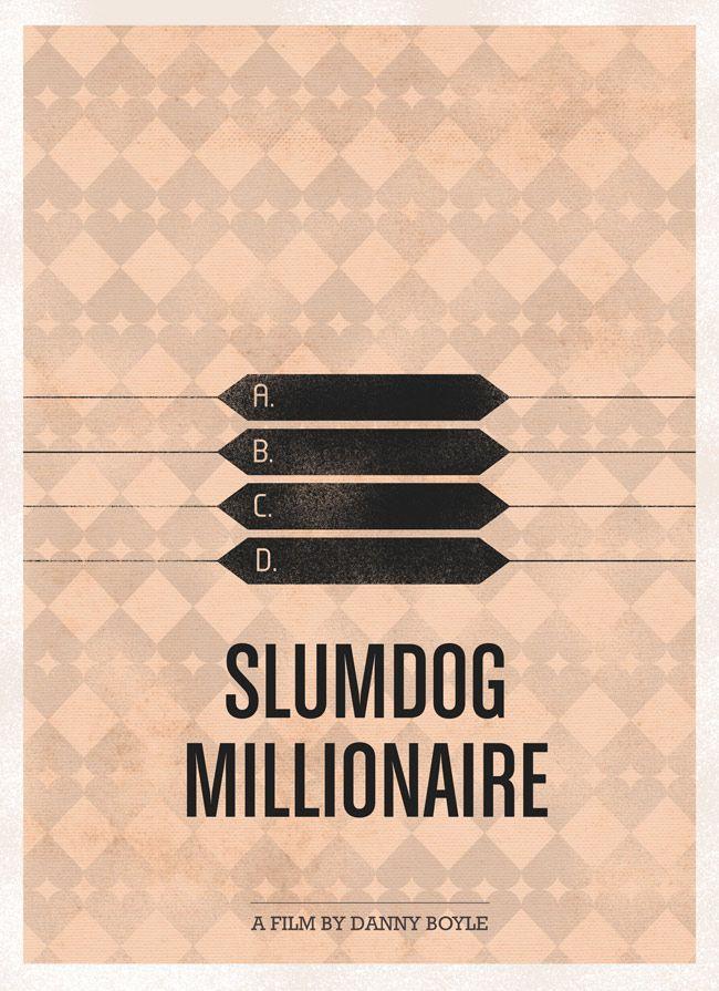 Minimalist - Slumdog Millionaire