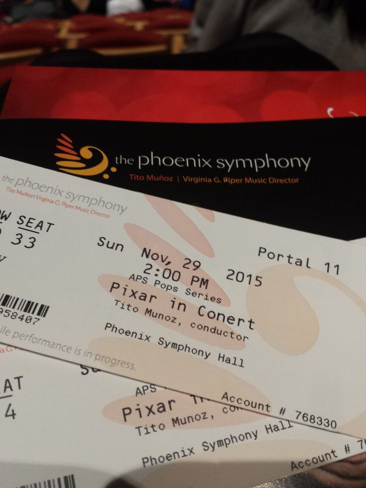 "Over Thanksgiving weekend Adam and I went to The Phoenix Symphony for their ""Pixar in Concert"" performance and it was AMAZING! My favorite parts were the first half closer (music from t…"
