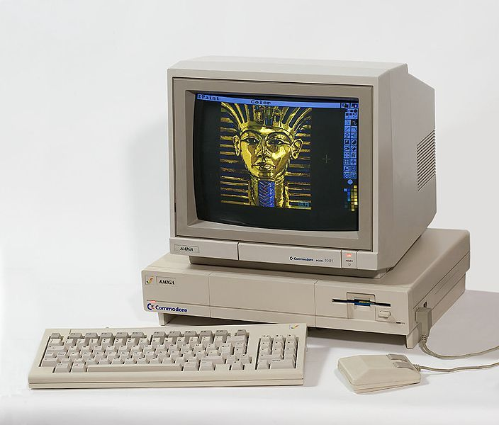 Commodore Amiga 1000. Had one. Best computer ever.