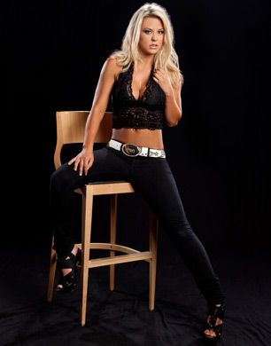 Wwe photoshoots lovely in lace tiffany taryn terrell - Naomi curtis diva futura ...