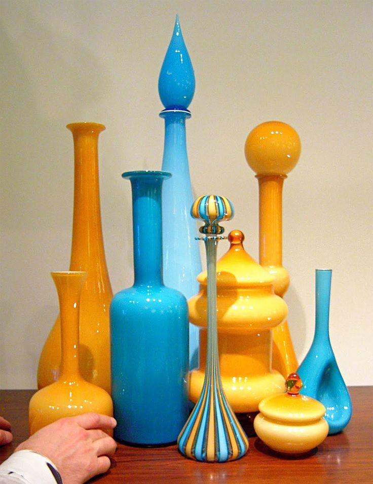 Looks modern but is from the 1950's. Love the colors, shapes!