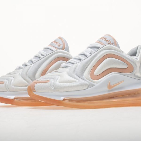 Nike Air Max 720 White Rose Pink AR9293 101 Chaussure 2019
