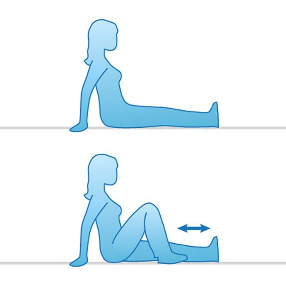 6 Easy Exercises for Knee Pain Relief.  Get strong, flexible, healthy knees with these exercises