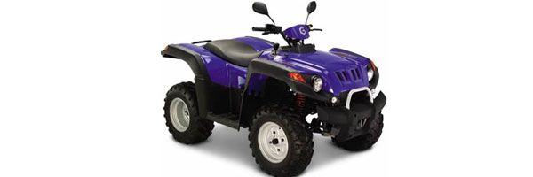 Quad Specifications: Gamax, 250cc, automatic, 2 seats.