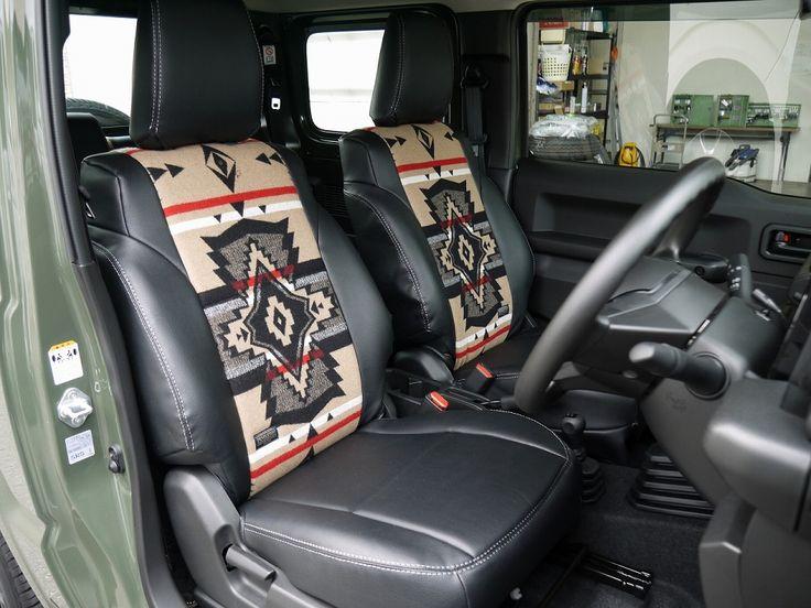 新型ジムニー ペンドルトン コラボ シートカバー Jb64 Jb74用 Suzuki Jimny Pendleton Seat Cover シートカバー ジムニー 新型ジムニー