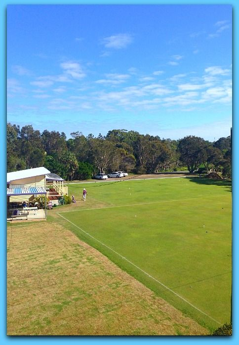 The Coolum Croquet Club has started work on their third playing field and it should be ready for the summer season. The other two fields are looking good for the winter games and today is no different. The Club keeps the playing fields in tip top condition and there is something very relaxing when you look over the fields from one of our studio apartment balconies.  It may not be an ocean view, but is certainly a great view to stare out onto and think about nothing for a few minutes.