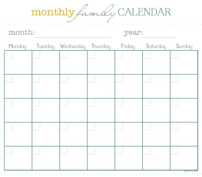 Monthly Meal Plan Calendar : Best images about calendario on pinterest free