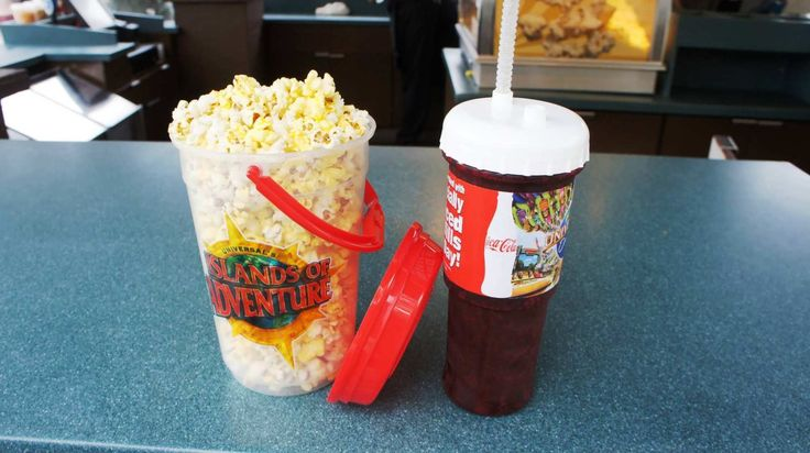 Refillable Snacks at Universal Studios Orlando - Guru Travel